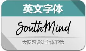 SouthMind系列六款英文字体