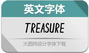 Treasure(英文字体)