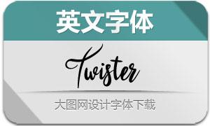 Twister(英文字体)