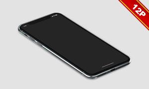 12款iPhoneX实景展示效果贴图模板