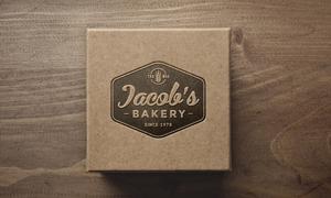 纸质包装盒上的标志展示效果源文件