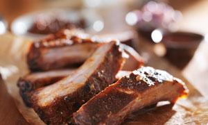 让人垂涎的肉美食特写摄影高清图片