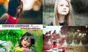 儿童照片肤色美化处理LR预设