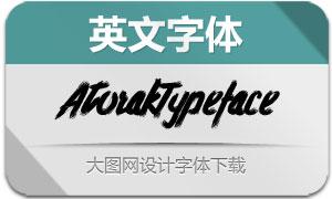 AtorakTypeface(英文字体)