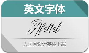 Afattal(英文字体)