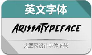 ArissaTypeface(英文字体)