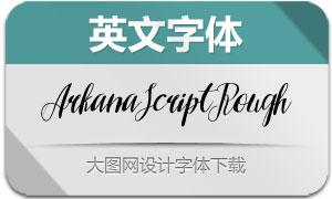 ArkanaScriptRough(英文字体)