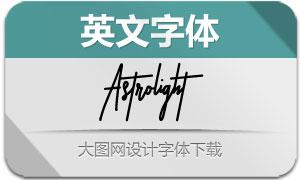 Astrolight(英文字体)
