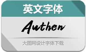 Authen(英文字体)