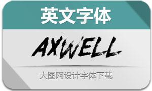Axwell(英文字体)