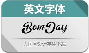 BomDay(英文字体)