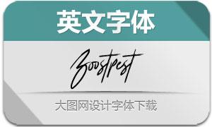 Boostpest(英文字体)