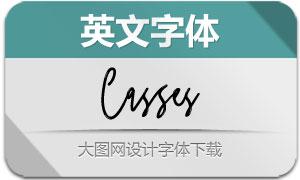 Casses(英文字体)