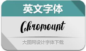 Chromount(英文字体)