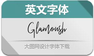 Glamoush(英文字体)