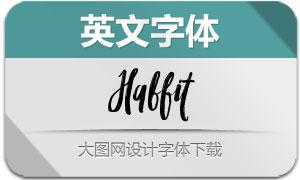 Habbit(英文字体)