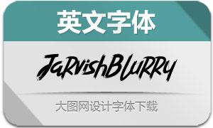 JarvishBlurry(英文字体)