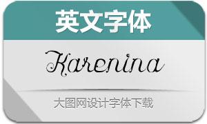 Karenina(英文字体)