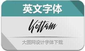 Kottam(英文字体)