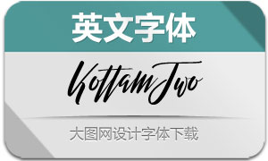 KottamTwo(英文字体)