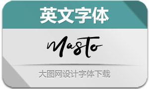 Masto(英文字体)