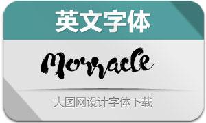 Morracle(英文字体)