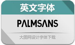 PalmSans(英文字体)