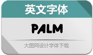 Palm(英文字体)