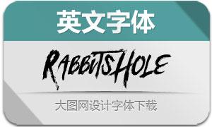 RabbitsHole(英文字体)