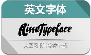 RissaTypeface(英文字体)