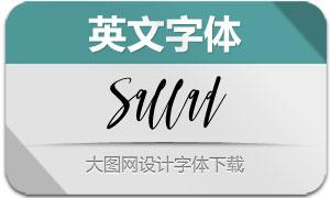 Sallad(英文字体)
