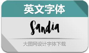 Sandia(英文字体)