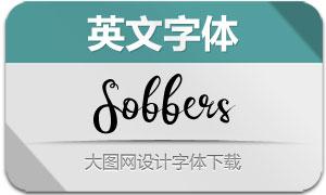 Sobbers(英文字体)