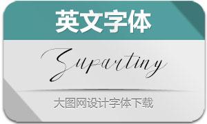 Supartiny(英文字体)