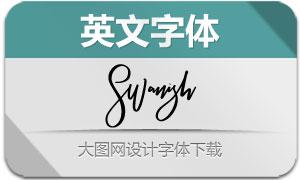 Swanish(英文字体)