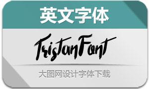 TristanFont(英文字体)