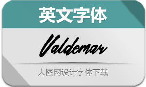 Valdemar(英文字体)