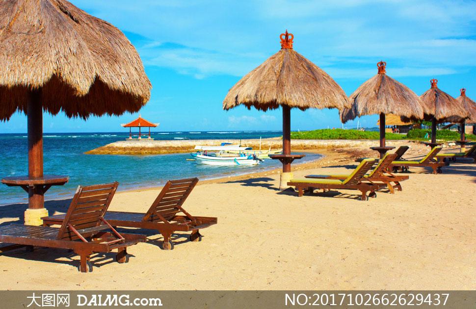 巴厘岛的海滩自然风光摄影高清图片 - 大图网设计素材