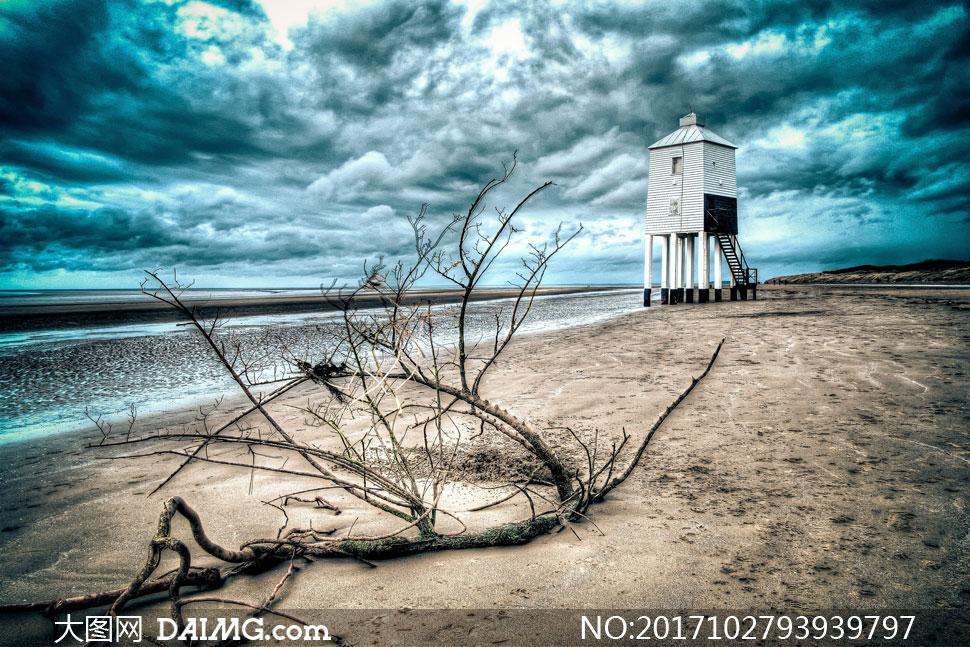 关 键 词: 高清图片大图素材摄影自然风景风光天空云彩云层多云树枝