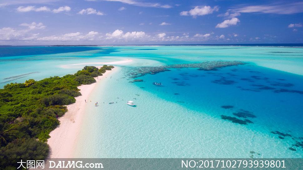 关 键 词: 高清图片大图素材摄影自然风景风光天空蓝天大海海水海景