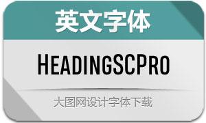 HeadingSmallcasePro系列字体