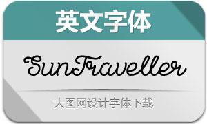 SunTraveller系列3款英文字体