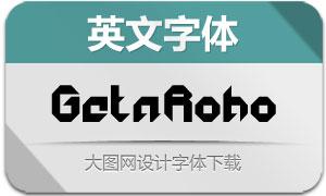 GetaRobo系列10款英文字体