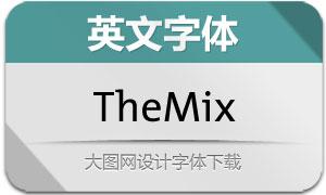 TheMix系列48款英文字体