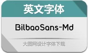 BilbaoSans-Medium(英文字体)