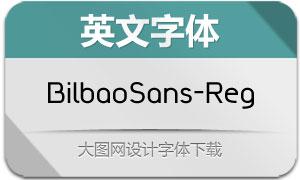BilbaoSans-Regular(英文字体)