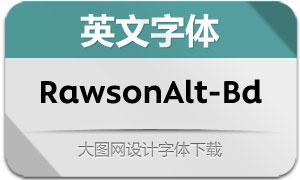RawsonAlt-Bold(英文字体)