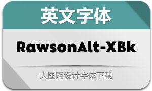 RawsonAlt-ExtraBlack(英文字体)