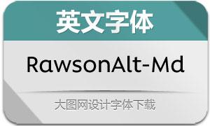 RawsonAlt-Medium(英文字体)
