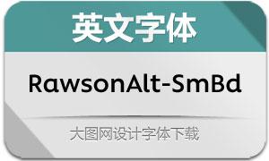 RawsonAlt-SemiBold(英文字体)